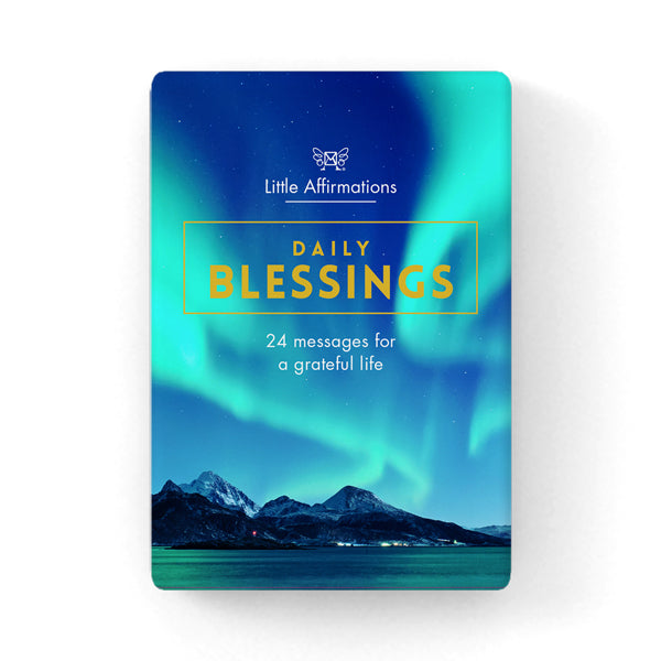 Daily Blessings - Little Affirmations Cards