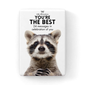 You're The Best - Little Affirmations Cards