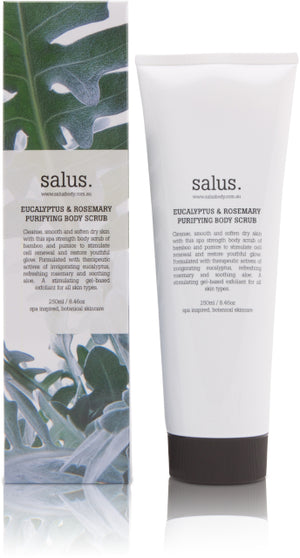 Eucalyptus & Rosemary Purifying Body Scrub - Salus
