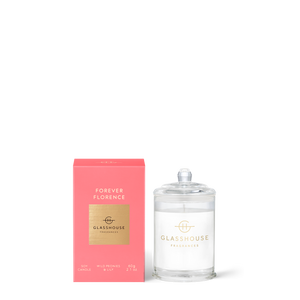 Forever Florence 60g Soy Candle - Glasshouse Fragrances