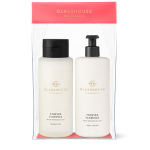 Forever Florence Body Duo Gift Set - Glasshouse Fragrances