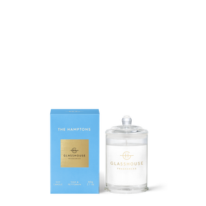 The Hamptons 60g Soy Candle - Glasshouse Fragrances