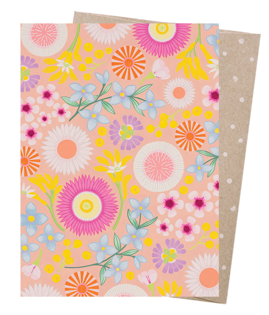 Spring Gully Greeting Card - Earth Greetings