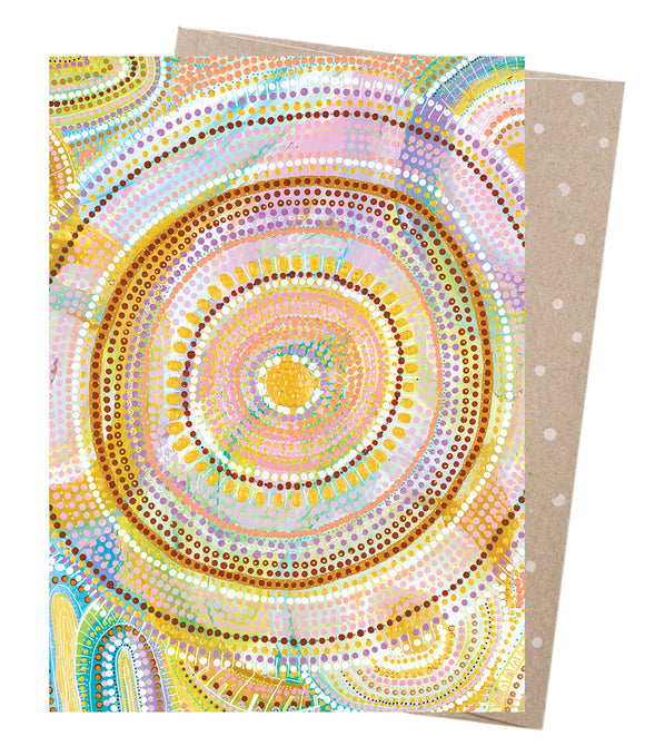Cosmic Consciousness Greeting Card - Earth Greetings
