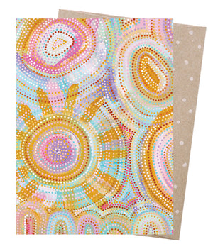 Rainbow Sun Greeting Card - Earth Greetings