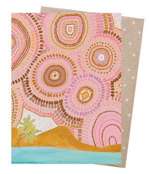 Seven Sisters & The Sea Greeting Card - Earth Greetings