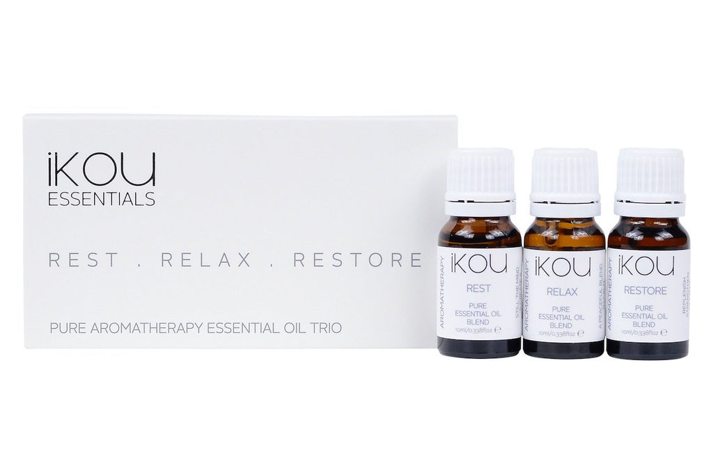 Essential Oil Trio, Rest Relax Restore - iKOU