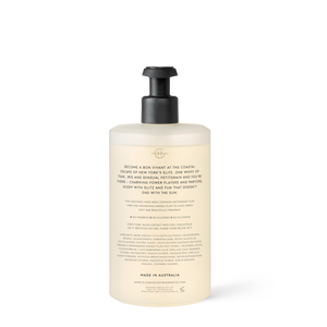The Hamptons 450ml Hand Wash - Glasshouse Fragrances