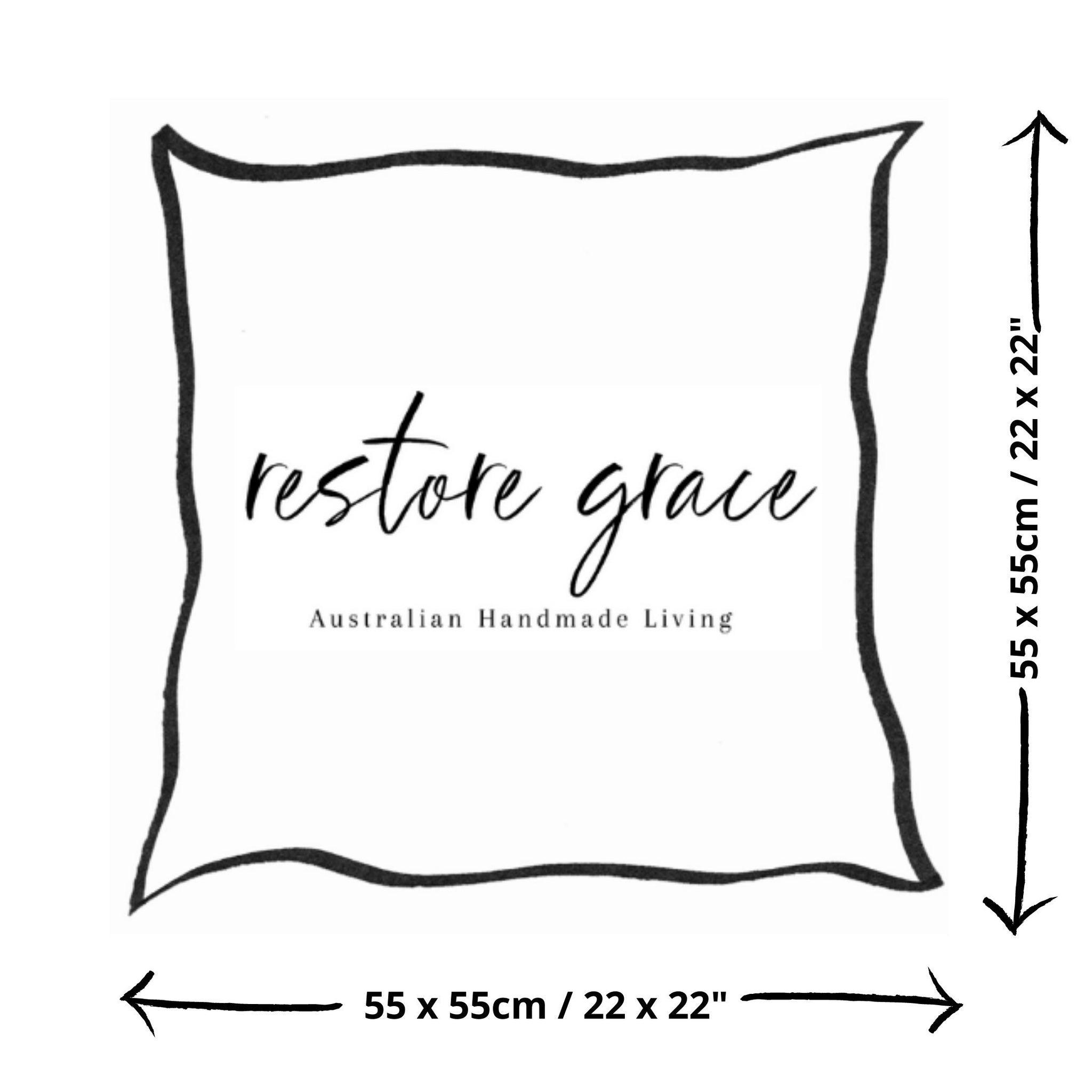 Blushing Southwest Cushion - Restore Grace