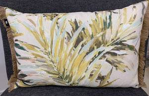 Florida Green Cushion Rectangular - Madras Link