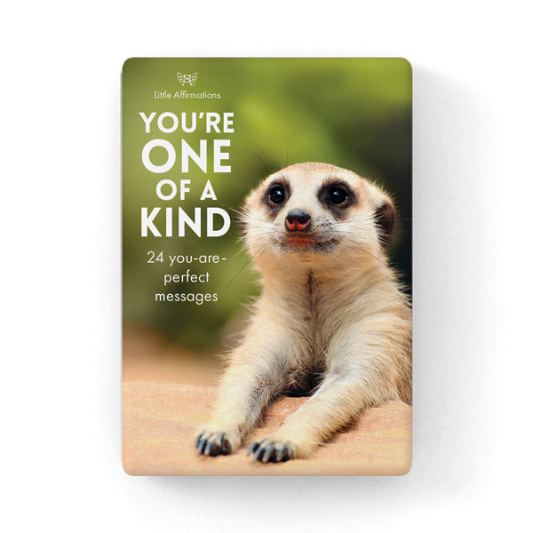 You're One of a Kind - Little Affirmations Cards
