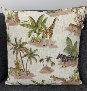 Animal Kingdom Cushion - Madras Link