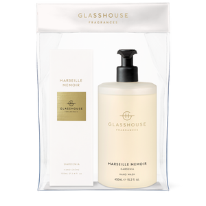 Marseille Memoir Hand Duo Gift Set - Glasshouse Fragrances