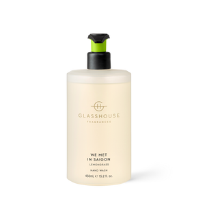 We Met In Saigon 450ml hand Wash - Glasshouse Fragrances