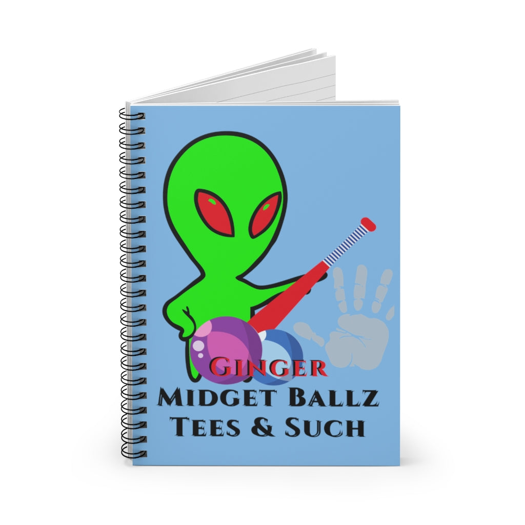 GMB Spiral Notebook - Ruled Line