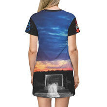 Load image into Gallery viewer, Ghost Cover All Over Print T-Shirt Dress