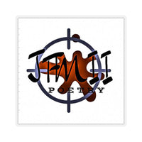 JFMII LOGO Kiss-Cut Stickers