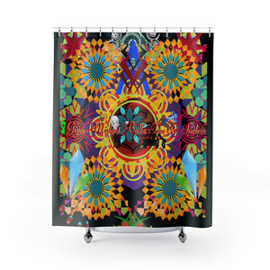 Ginger Midget Ballz Favorites Shower Curtains