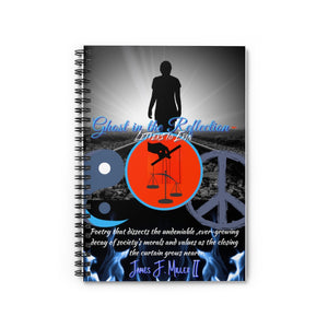 Ghost Cover Spiral Notebook - Ruled Line