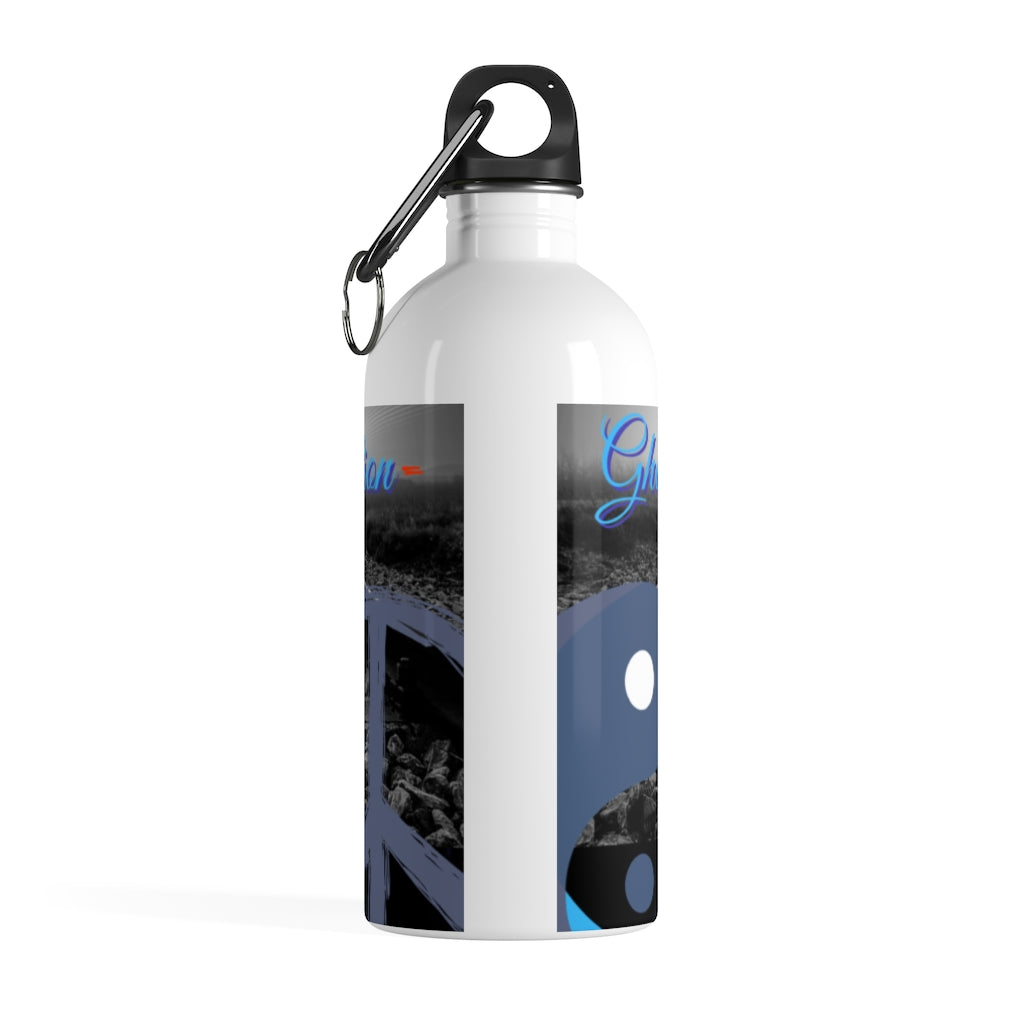 Ghost in the Reflections Stainless Steel Water Bottle