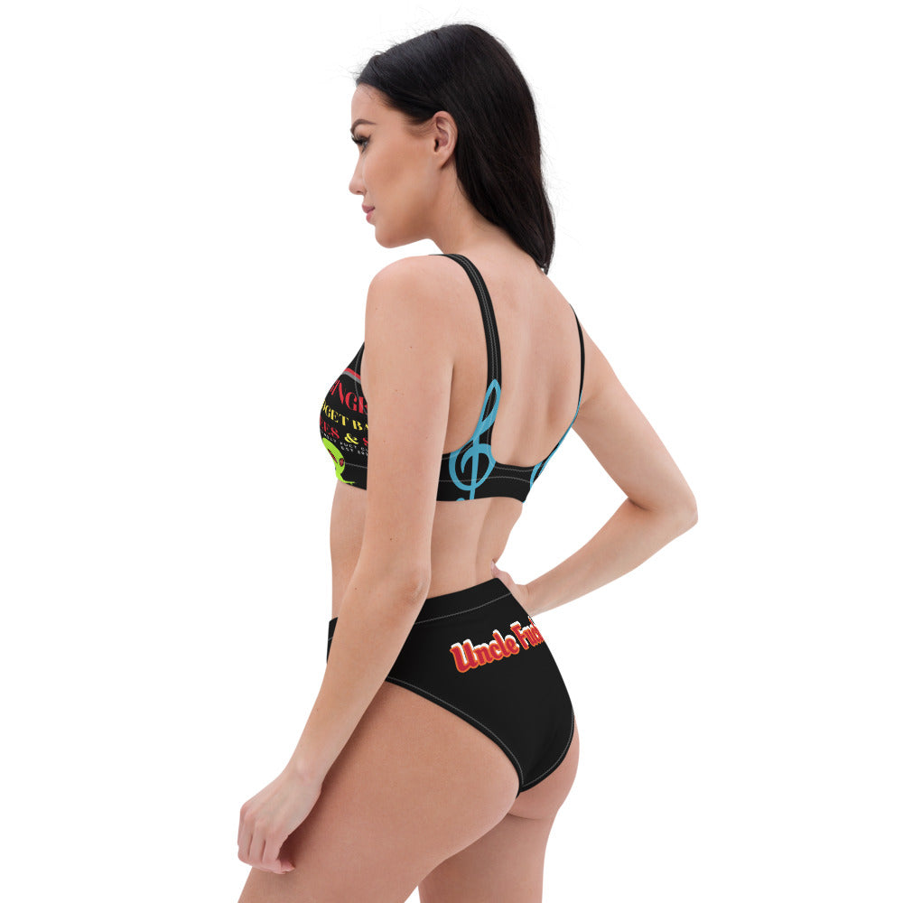 GMB Know Your ENemy Recycled high-waisted bikini