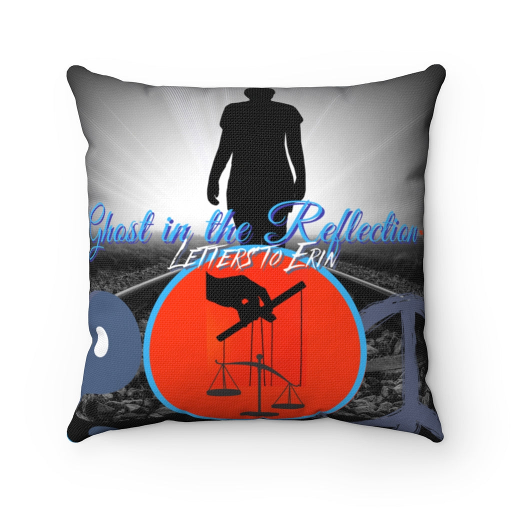 Ghost Cover Spun Polyester Square Pillow