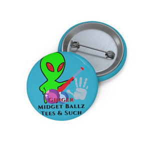 GMB Alien Junk #2 Custom Pin Buttons