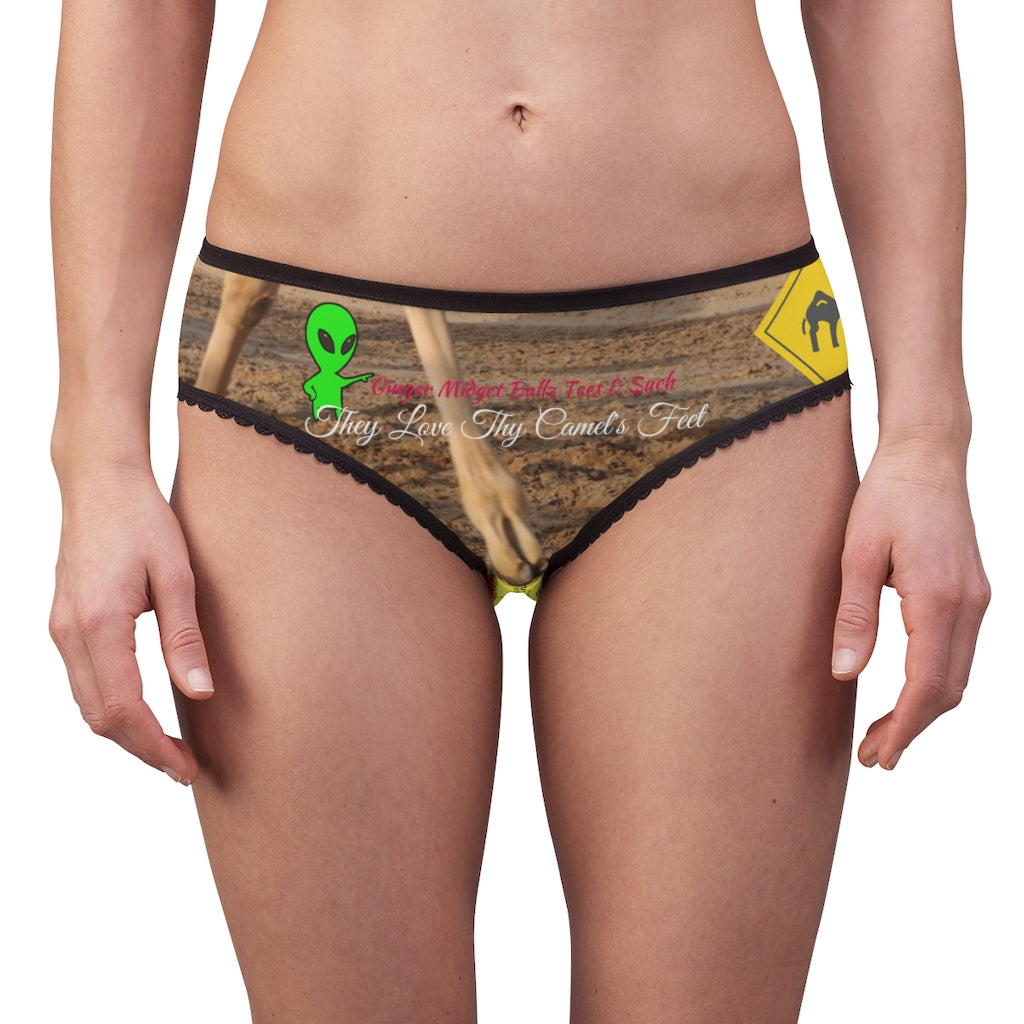 GMB They Love Thy Camel's Feet Women's Briefs