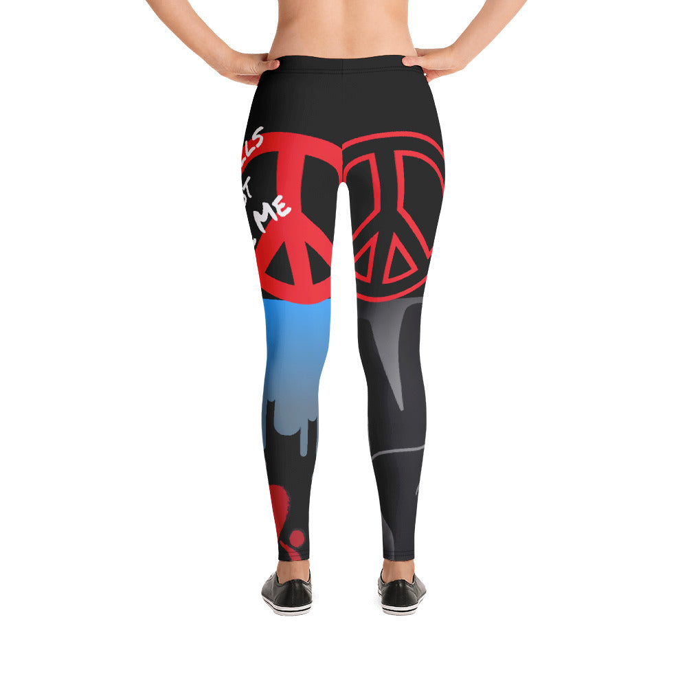 Cannot Be Tamed Leggings