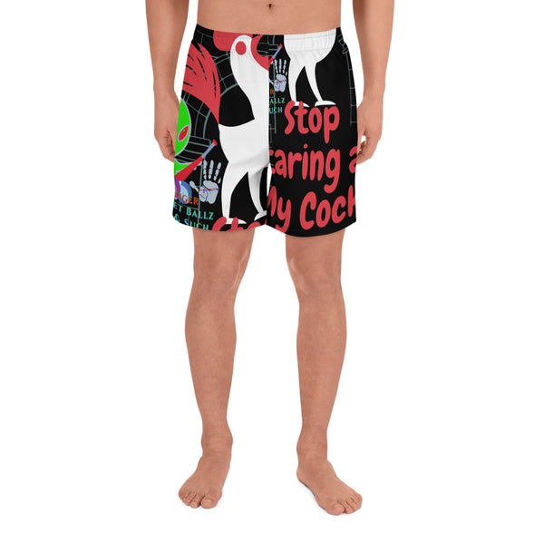 GMB STOP STARING Men's Athletic Long Shorts
