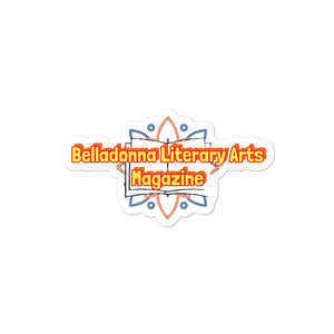 Belladonna Literary Arts Magazine Bubble-free stickers