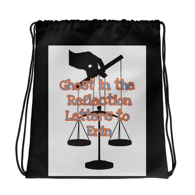 Ghost Puppeteer's Scales Drawstring bag