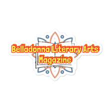 Load image into Gallery viewer, Belladonna Literary Arts Magazine Bubble-free stickers