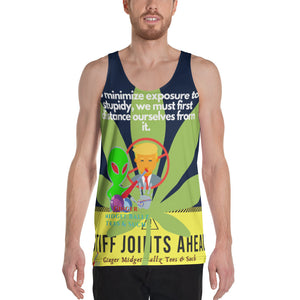 Ginger Midget Ball-itis Unisex Tank Top