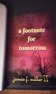 A Footnote for Tomorrow paperback