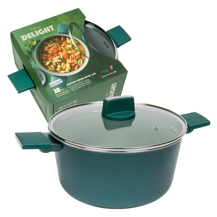 Aluminum Non-Stick Dutch Oven- 11.8""""