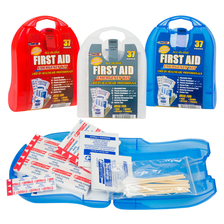 37 Piece First Aid Kit- 3 Assortments