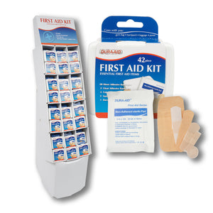 First Aid -Aid United 42pc First Aid Kit Display 144pc