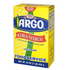 Argo Corn Starch 16oz Box Jar