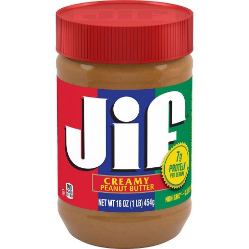 Jif Creamy Peanut Butter Variety of Sizes