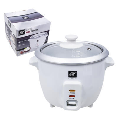 Mercury Rice Cooker- White- 3/6 Cup