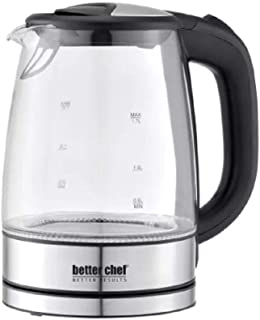 Better Chef 1.7L CORDLESS ELECTRIC KETTLE W GLASS CONTAINER
