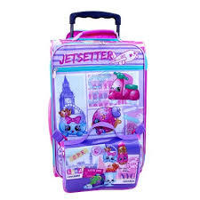 "Shopkins 18"" Kids Suitcase with Travel Case"