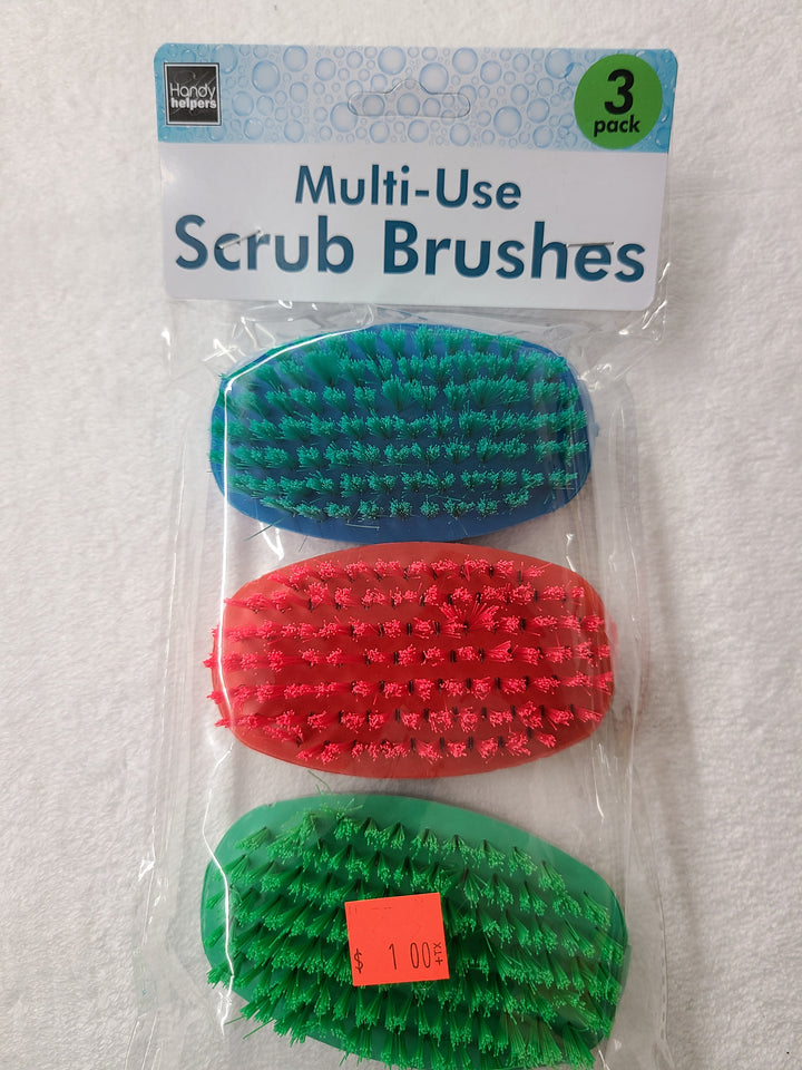 3 Pack Cleaning Brush