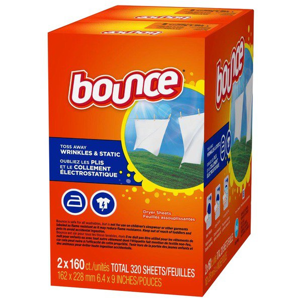 Bounce Dryer Sheets  2 X 160 ct