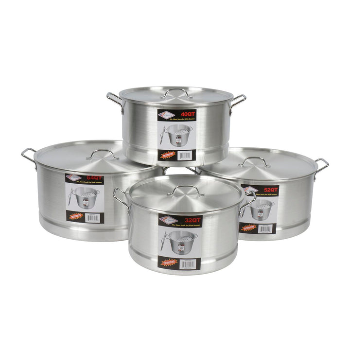 4pc 32-64qt Tamale Steamer Pot