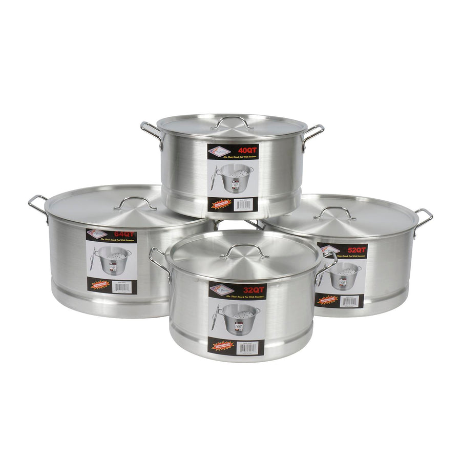 Quality 4pc 32 64qt Tamale Steamer Pot