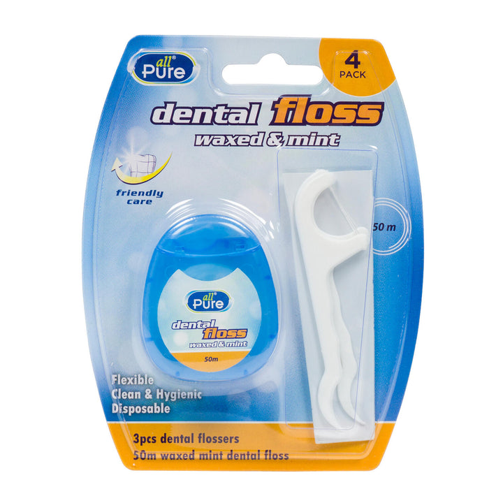 All Pure -3 Piece Floss Dental Kit