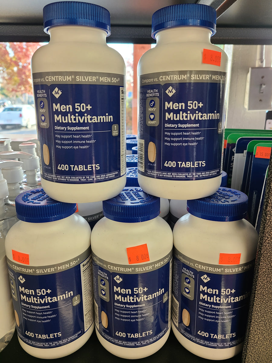 Members Mark Men 50 Multivitamin 400 Tablets