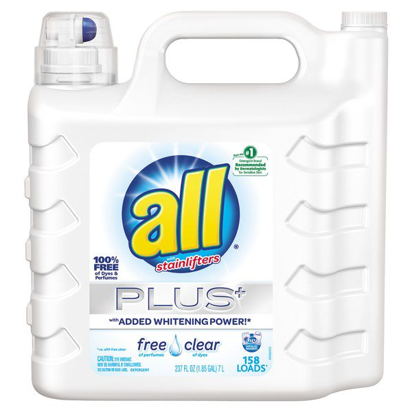 All Free&Clear Liquid Laundry Detergent 237 floz